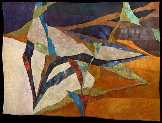 Crater - Quilt National 2011